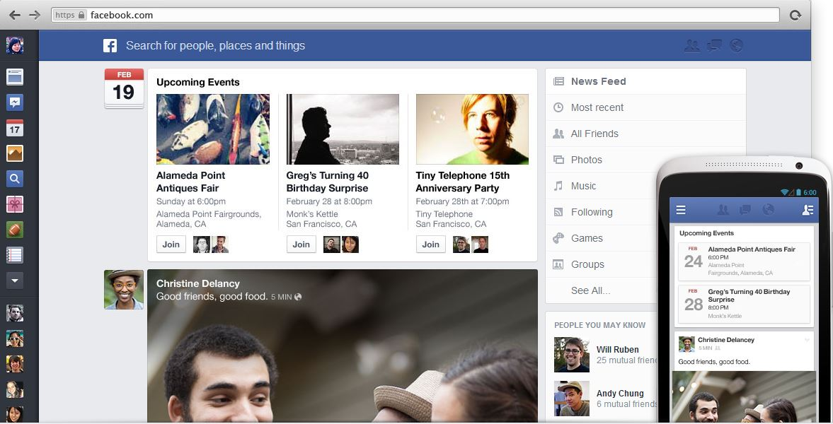 New Facebook News Feed 6