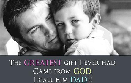 We are providing the best collection of Fathers Day SMS, Fathers day messages to wish them.