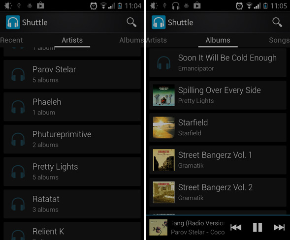 Best Free Music Player for Android