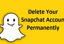 How To Delete Your Snapchat Account Permanently